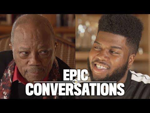 Quincy Jones and Khalid's Epic Conversation   GQ