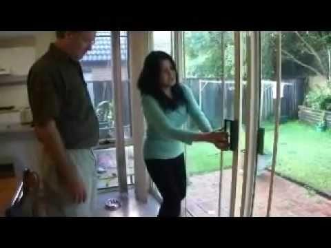 Sliding Door Repairs Sydney Australia - Impossible to Open Door Now Rolling Smoothly