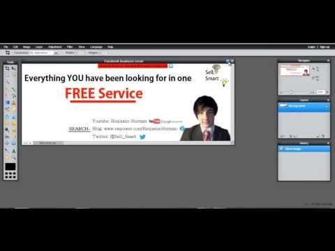 How to make a professional Facebook cover and profile picture in under 5 minutes - FREE Software