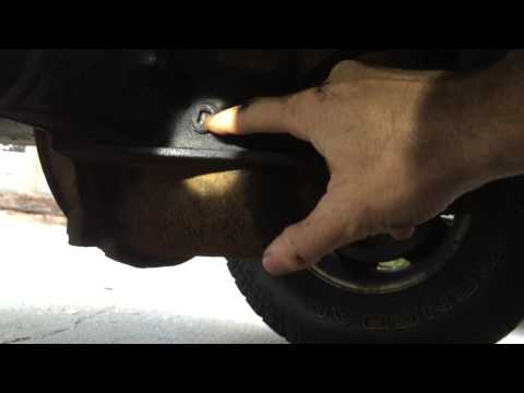 How To Check The Oil On A Differential And Transfer Case