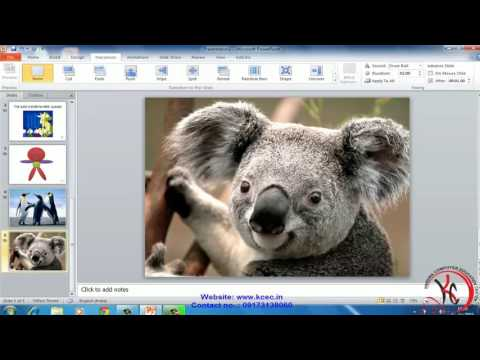 ms powerpoint tutorial in hindi Animation Tab, Slide Show Tab ms power point