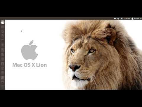Install Mac OS X theme on Ubuntu 12.10 Quantal Quetzal/Ubuntu 12.04 Precise [HD]