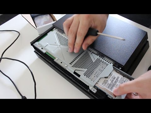 PS4 Upgrade - Installing a NEW HARD DRIVE