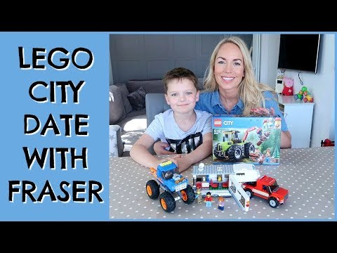 LEGO CITY WITH MY LITTLE HERO FRASER | EMILY NORRIS AD