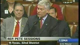 Sen Pete Sessions Billion Trillion Zillion