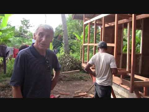 DAY 4 RUBBLE HOUSE REPAIR PROJECT EXPAT SIMPLE LIFE PHILIPPINES FOREIGNER