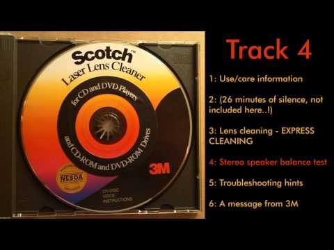 [Obscure stuff] Scotch Laser Lens Cleaner CD