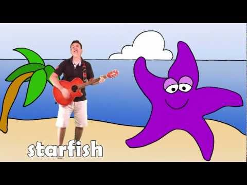 Let's Go To The Beach | Learn Sea Animals