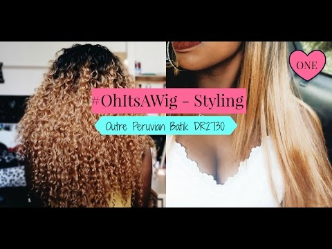 STRAIGHTENING $17 SYNTHETIC OUTRE HALF WIG | #OhItsAWig: STYLING ONE | JUNE 2016 | JESSIKA WYSINGER