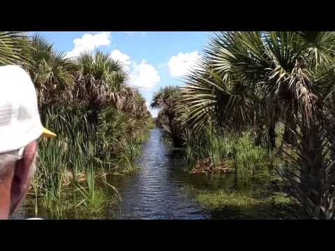 Airboat with the Swamp Man in Central Florida