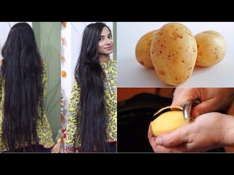 How to get Long, Soft, Smooth and Healthy Hair with Potato | Potato Hair Growth Mask