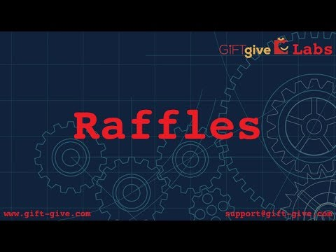 Online Raffles and GiFTgive!