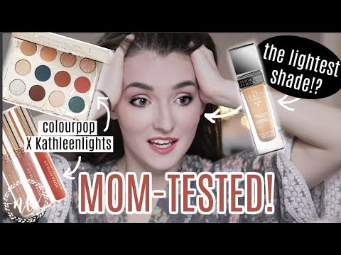 NEW AT THE DRUGSTORE |  Physicians Formula, Colourpop X Kathleenlights, FIRST IMPRESSIONS