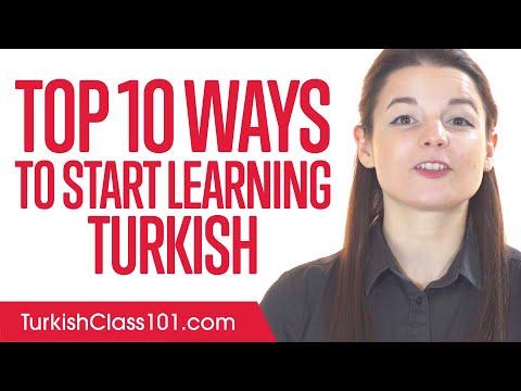 Top 10 Ways to Start Learning Turkish