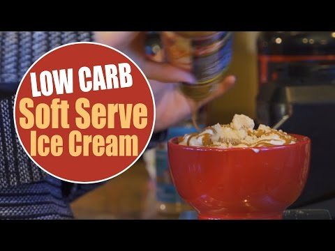 LOW CARB Soft Serve Ice Cream - High Protein