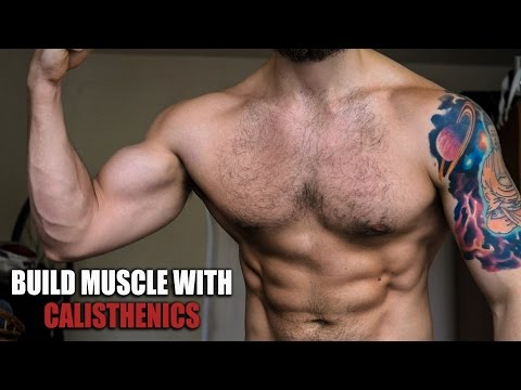 How to Build Muscle without Gym with Calisthenics/Bodyweight
