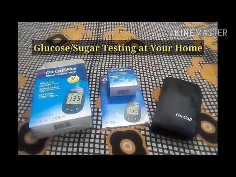 Sugar or Glucose Testing at Home