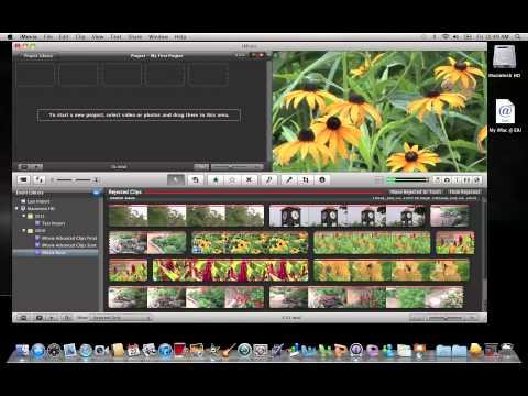 iMovie 11: Organizing Footage