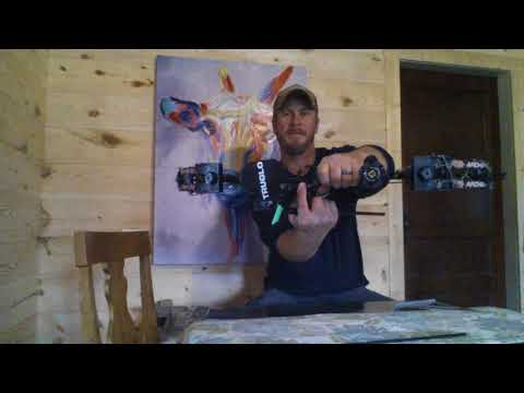 DIY compound bow setup up. Setting your nock point with a $10 bow square!