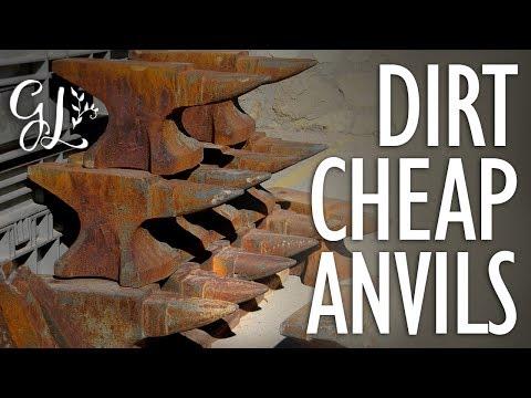 CHEAP ANVILS!!!! No More Craigslist JUNK!