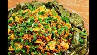 أكلة تركية خفيفة ولذيذة برغل بالبيض مع ورق العنب قيمالغ مع رباح محمد ( الحلقة 507 )