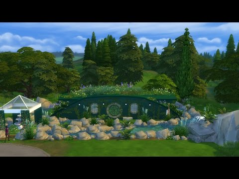 Hobbit House : The sims 4 speed build