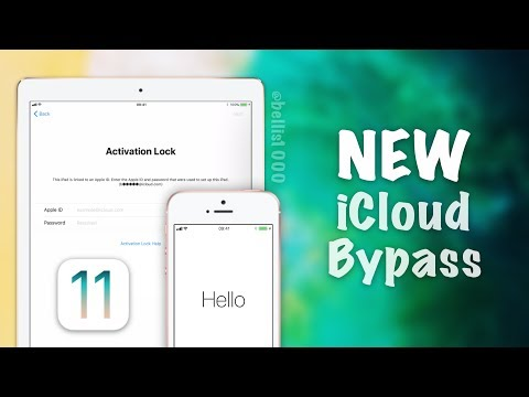 NEW iOS 11 iCloud Activation Lock Bypass - New Setup.app Glitches/Crashes! Access Photos & Email
