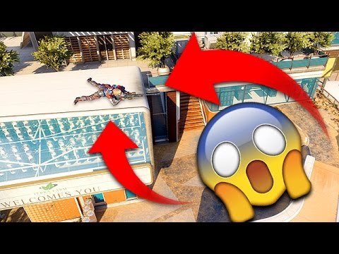 IMPOSSIBLE GLITCH HIDING SPOTS ON BLACK OPS 3! (BO3 Hide N Seek Secret Spots)