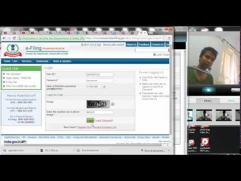 732 (Income Tax)  How to download filled return in PDF format from income tax website