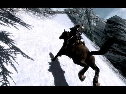 Flying Horse in Skyrim ... Yeah!!!