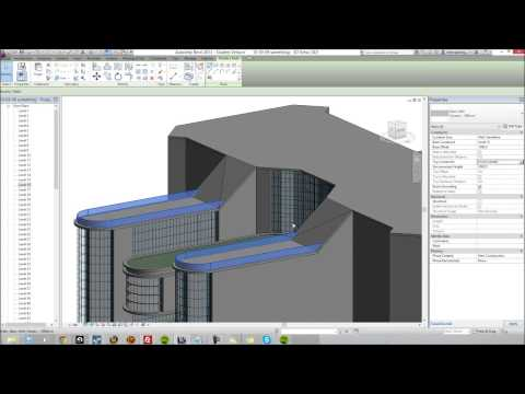 How I Build A Commercial Building (in Revit Architecture)