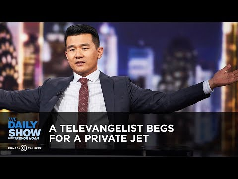 A Televangelist Begs for a Private Jet | The Daily Show
