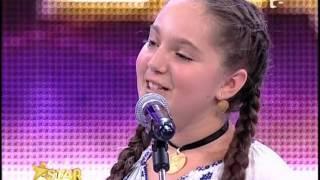 Antonia Stoian are 12 ani si e din Targu Jiu