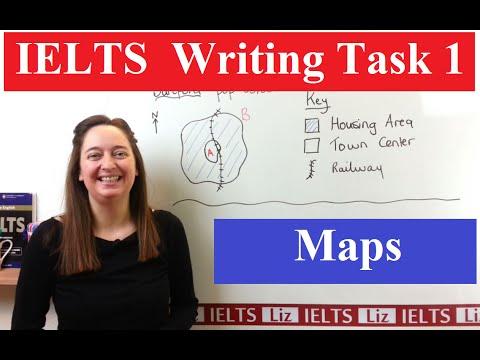 IELTS Writing Task 1 Map Vocabulary