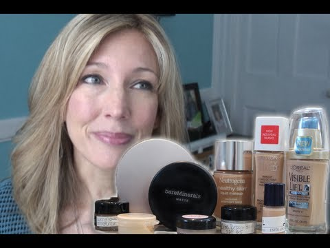 Best & Worst: Testing 5 High-End Foundations for Mature, Aging Skin