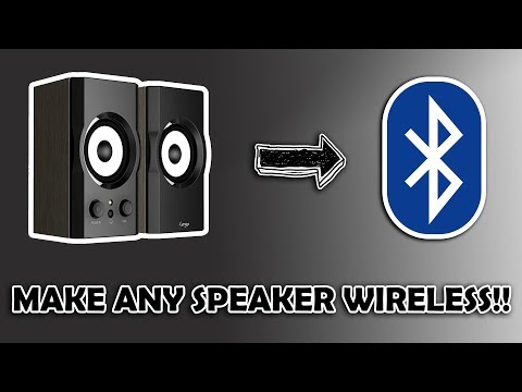 How To Turn Any Speaker Or Any Old Home Theater System Wireless    Bluetooth Adapter    Simple Trick