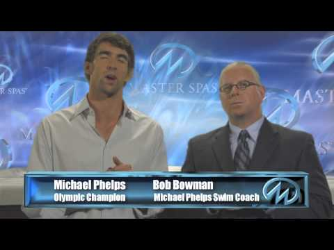 Michael Phelps signature swim spas Calgary