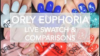 Orly Euphoria Summer 2019 // Live Swatch + Comparisons // Color Pass Subscription thoughts