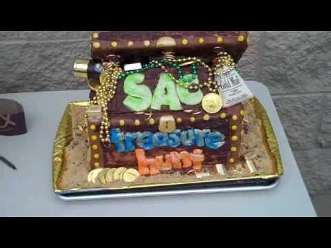 Sac Treasure Hunt Cake #1