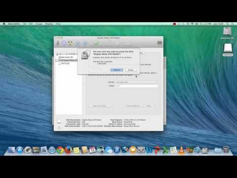 How to Format a Flash Drive on a Mac - Demonstration
