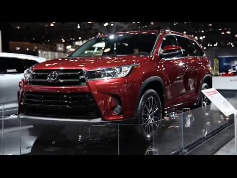 Toyota highlander 2018 interior and exterior