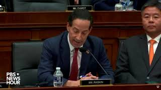 WATCH: Rep. Jamie Raskin says Lewandowski shouldn't claim executive privilege   Lewandowski hearing