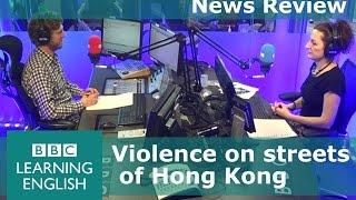 BBC News Review: Hong Kong riots