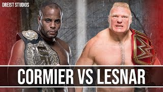 "Brock Lesnar vs Daniel Cormier Promo Trailer | GOAT vs BEAST | ""Push Me Now"""