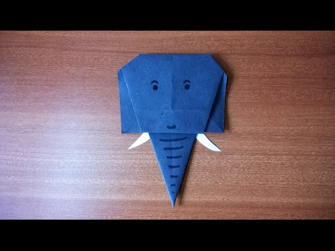How to Make a Simple Paper Elephant