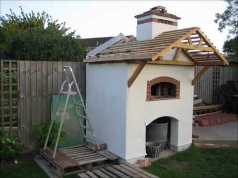 Building Pizza Oven - UK