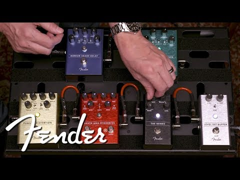 Exploring The Signal Chain | Effect Pedals | Fender