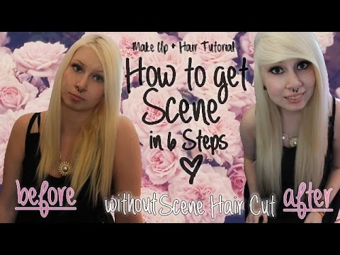 6 Steps to get Scene (without Scene Hair Cut) - 2014 | deutsch & english