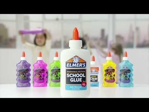Elmer's School Glue: The Best Glue for All of Your Slime Making!
