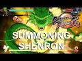 How Summoning Shenron ACTUALLY Works In Dragon Ball FighterZ Collecting The 7 Dragon Balls